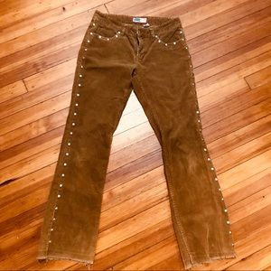 Vintage Old Navy. Rare riveted corduroys 8